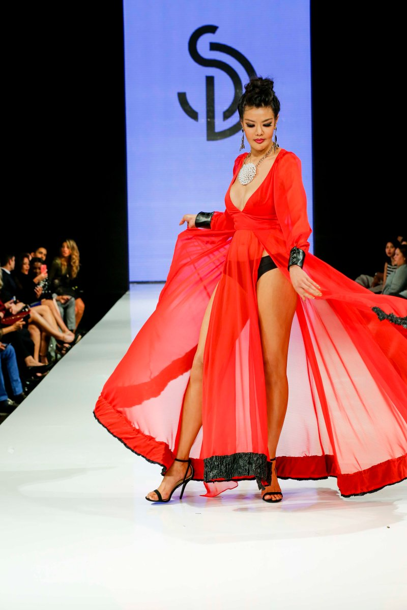La Fashion Week 2015 Designer Sanyae Demure